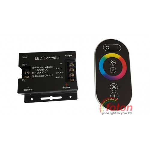 Controller RGB with remote control